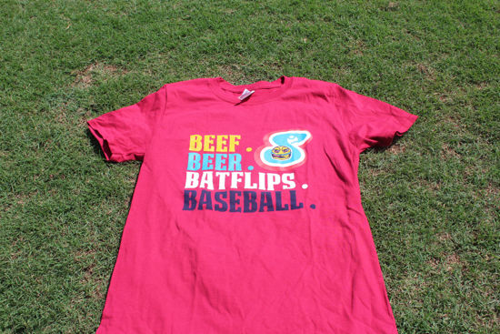 Picture of Red Short Sleeve T-Shirt