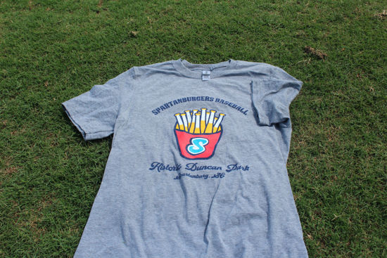 Picture of Grey Fry Logo Short Sleeve T-Shirt