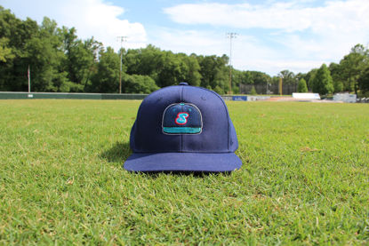 """Picture of """"Hat"""" Hat - Snapback - Navy"""